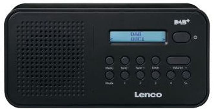 PDR-015 - Schwarz DAB+ Radio Lenco 785300148654 Bild Nr. 1