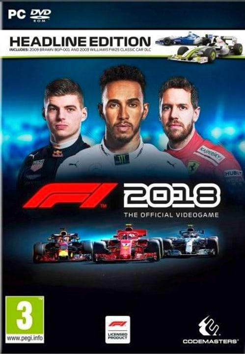 PC - F1 2018 Headline Edition (D) Box 785300136067 Bild Nr. 1