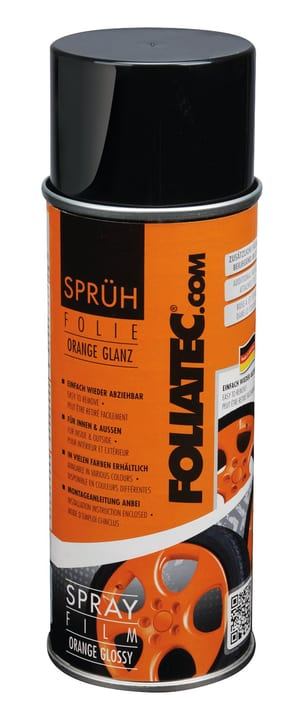 Pellicola Spray arancio 400 ml Spray per cerchioni FOLIATEC 620283000000 N. figura 1