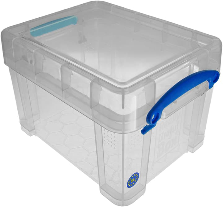 Ordnungsbox 3 L, klar Really Useful Box 603714600000 Bild Nr. 1