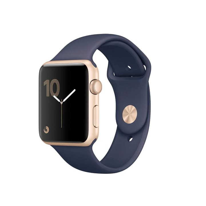 Watch S1 42mm Alu Gold Sport Midnight Blue Apple 798180600000 Photo no. 1
