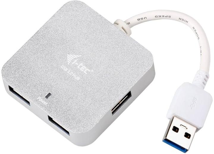 USB 3.0 Metal Passive HUB 4 Port USB Hub i-Tec 785300147210 Photo no. 1