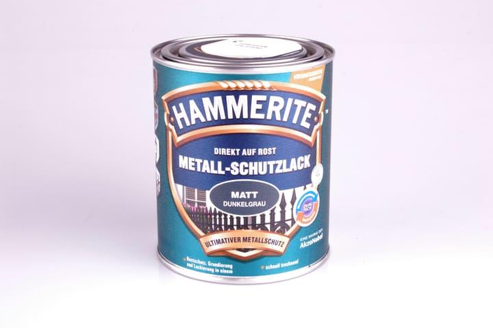 Pittura per metalli opaco grigio scuro 750 ml Hammerite 660837500000 Colore Grigio scuro Contenuto 750.0 ml N. figura 1