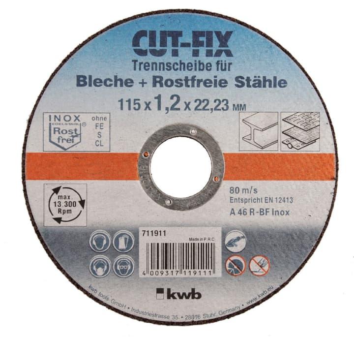 Trennscheiben extra dünn, Metallbearbeitung, ø 115 mm kwb 610522700000 Bild Nr. 1