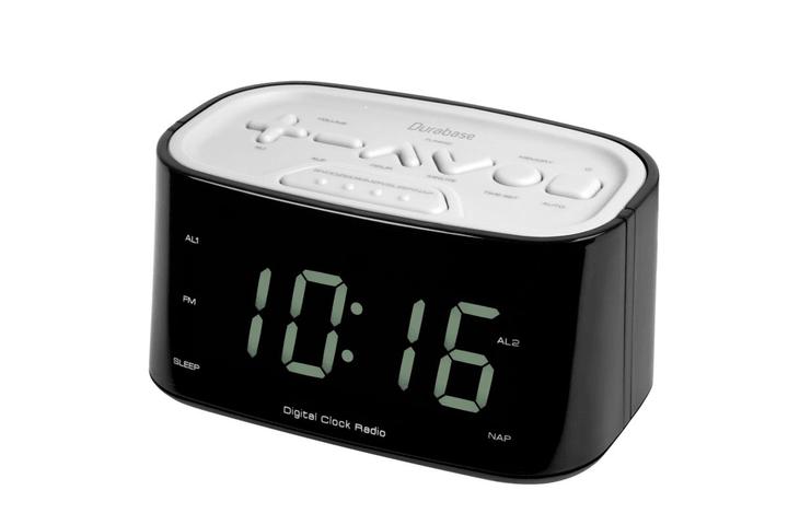 CR3 - Blanc Radio réveil Durabase 773410300000 Photo no. 1