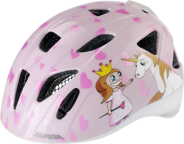 Ximo Flash Casco da bicicletta per bambini Alpina 462966750438 Colore rosa Taglie 49-55 N. figura 1