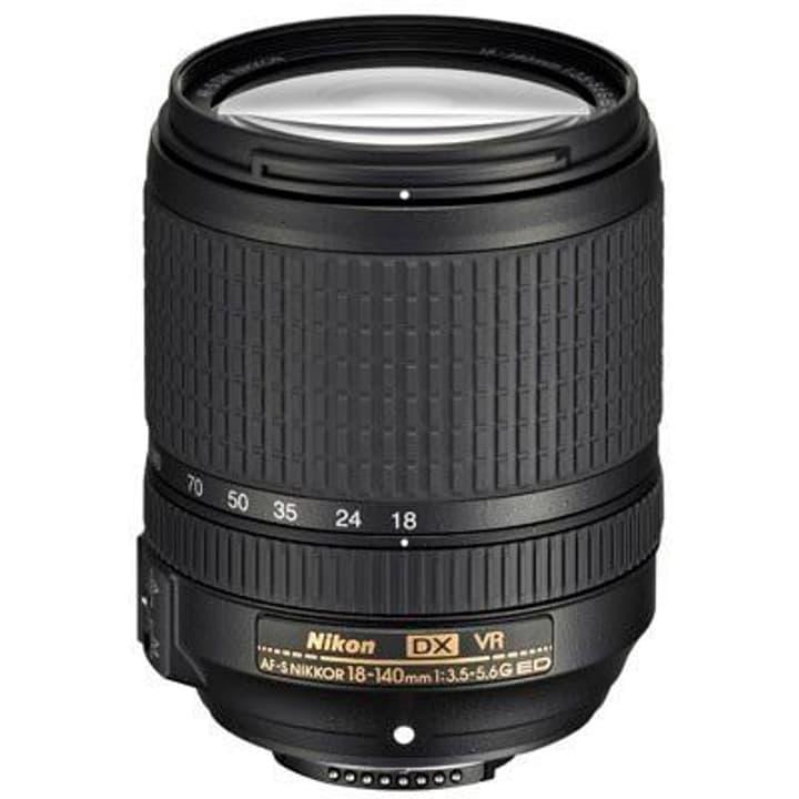 Nikkor AF-S DX 18-140mm /3.5-5.6 G ED VR Objektiv Objektiv Nikon 785300125544 Bild Nr. 1