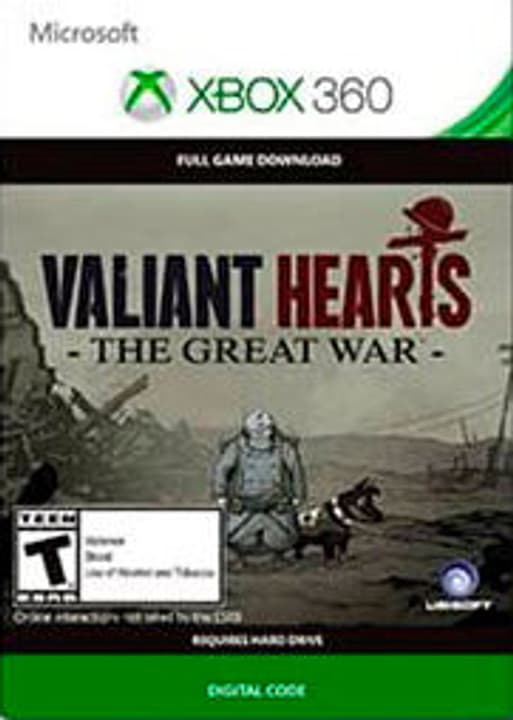 Xbox 360 - Valiant Hearts: The Great War Numérique (ESD) 785300135699 Photo no. 1