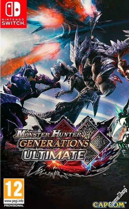 Switch - Monster Hunter Generations Ultimate Box 785300138136 Bild Nr. 1