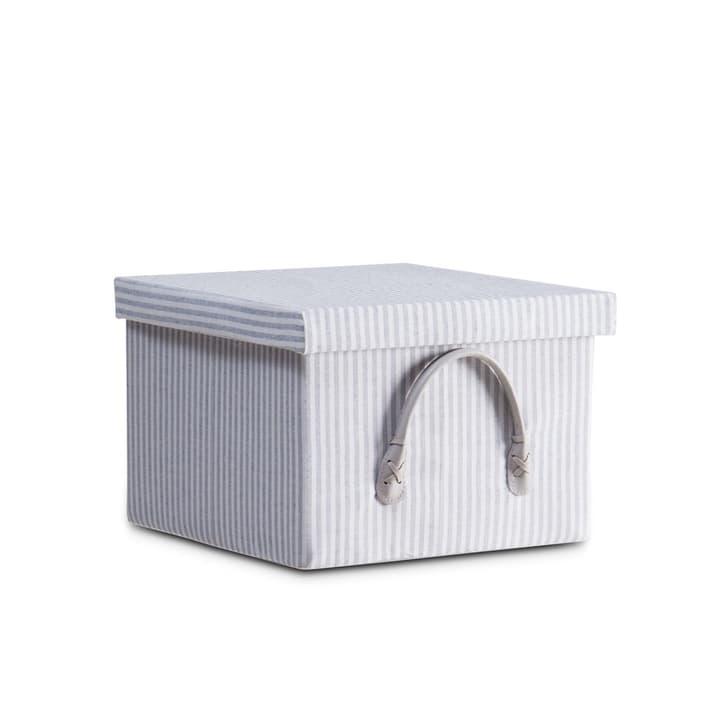 SAM Box 386091000000 Grösse B: 29.0 cm x T: 29.0 cm x H: 20.0 cm Farbe Grau gestreift Bild Nr. 1