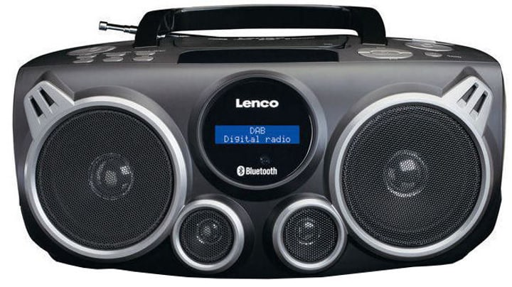 SCD-685 - Schwarz CD-Radio Lenco 785300148674 Bild Nr. 1