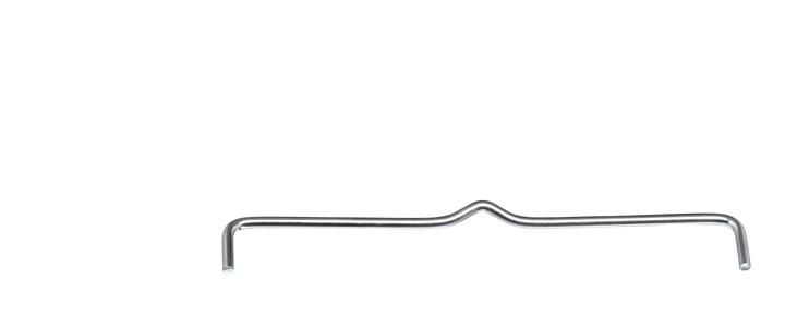 WASA Tringle de Rayon 400630200000 Couleur Métal Dimensions P: 30.0 cm Photo no. 1
