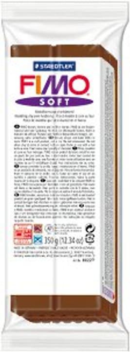 Soft grand chocolade Fimo 665306000000 Couleur Chocolat Photo no. 1