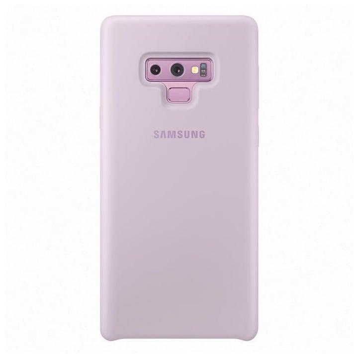 Silicone Cover lavande Coque Samsung 785300138234 Photo no. 1