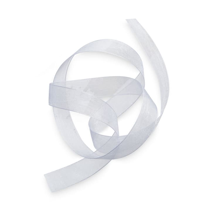 ORGANSA Geschenkband 15 mm  x 5 m 386183100000 Grösse B: 500.0 cm x T: 1.5 cm x H: 0.1 cm Farbe Weiss Bild Nr. 1