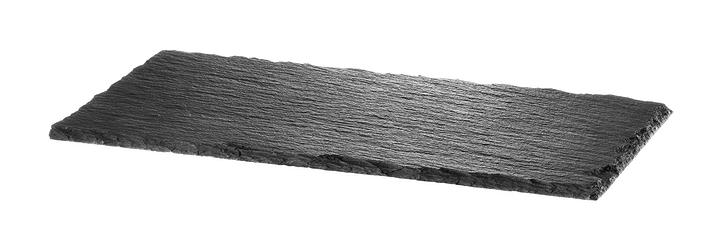 NERO Plaque en ardoise 440601000700 Couleur Noir Dimensions L: 30.0 cm x P: 15.0 cm x H: 0.5 cm Photo no. 1