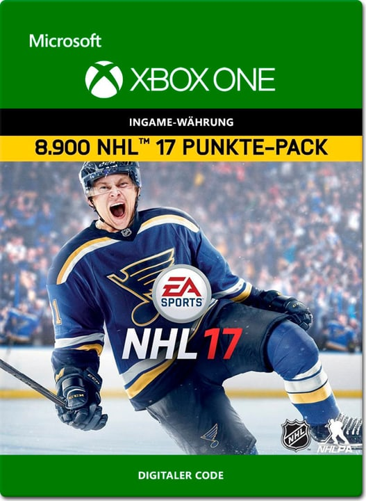 Xbox One - NHL 17 Ultimate Team: 8900 Points Download (ESD) 785300137924 Photo no. 1