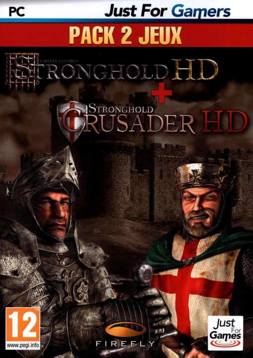 PC - Stronghold HD + Strongold Crusader HD Box 785300121705 N. figura 1