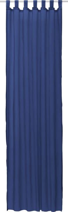 DANA Rideau prêt à poser jour 430259300042 Dimensions L: 140.0 cm x H: 245.0 cm Couleur Bleu foncé Photo no. 1