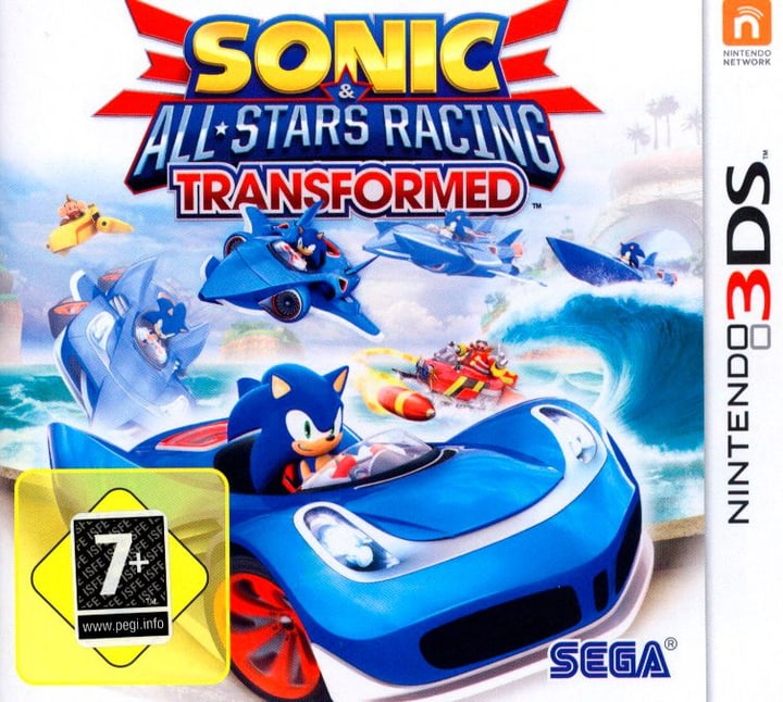 3DS - Sonic All-Stars Racing Transformed Box 785300129608 Bild Nr. 1