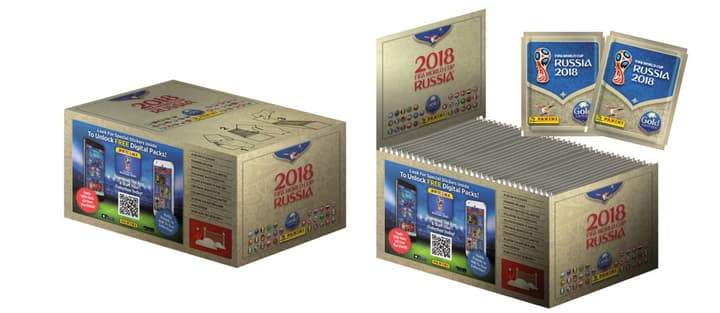 PANINI 2018 FIFA World Cup TM Official Sticker Collection Gold Edition 747652200000 N. figura 1