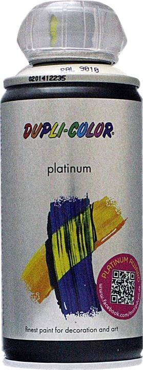 Vernice spray Platinum opaco Dupli-Color 660827100000 Colore Bianco Contenuto 150.0 ml N. figura 1