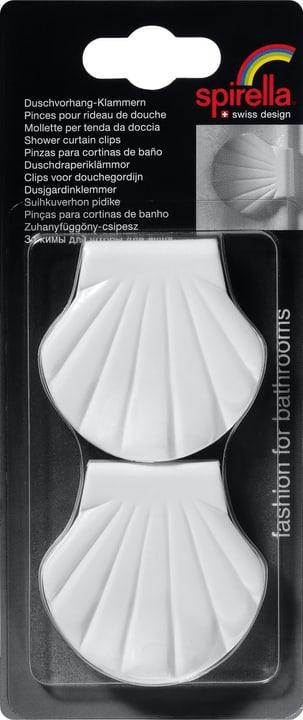 Shell-Clip spirella 675853400000 Couleur Blanc Photo no. 1