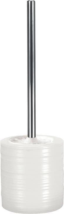 WC-Bürstengarnitur Sahara Kleine Wolke 675007900000 Farbe Weiss Grösse 120 x 365 mm Bild Nr. 1