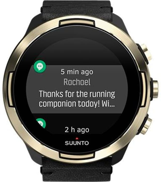 9 G1 BARO Gold Leather Smartwatch Suunto 785300147037 Photo no. 1