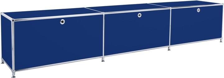 FLEXCUBE Buffet bas 401813530140 Dimensions L: 227.0 cm x P: 40.0 cm x H: 44.5 cm Couleur Bleu Photo no. 1