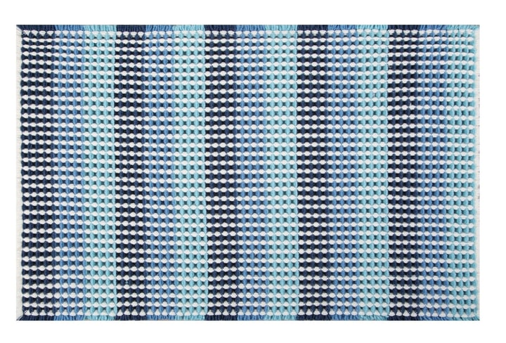 Tapis de Bain spirella 675260500000 Couleur Bleu Photo no. 1