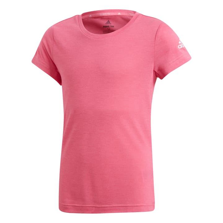 Prime T-Shirt Mädchen-T-Shirt Adidas 464598012829 Farbe pink Grösse 128 Bild-Nr. 1