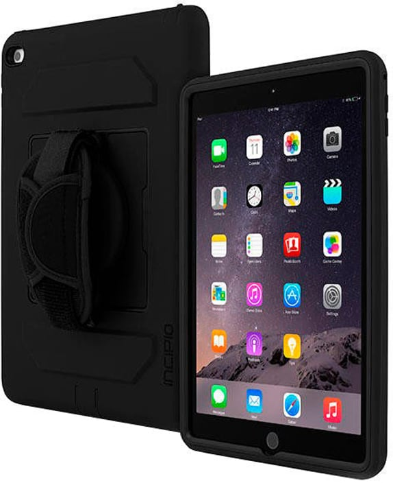 Capture Rugged Case with Handstrap for Apple iPad Air 2 black Incipio 785300137127 Photo no. 1