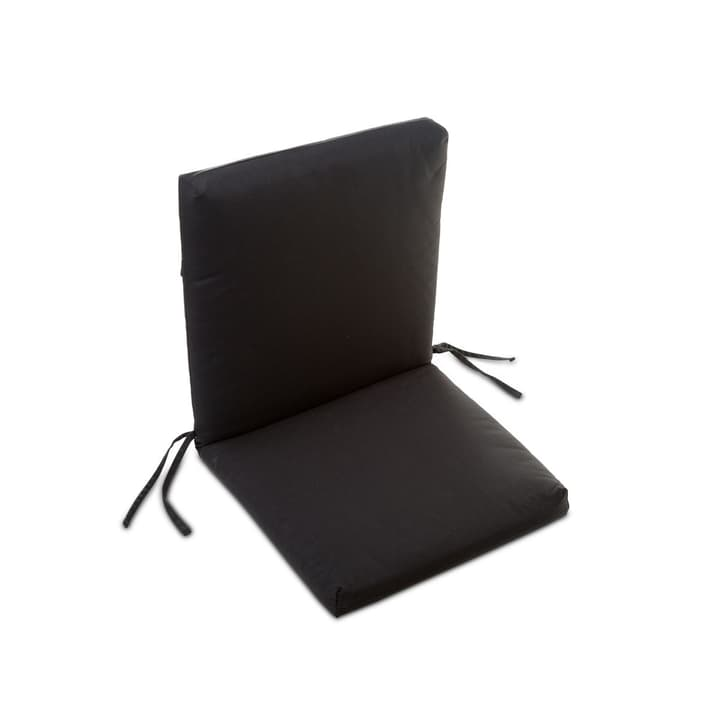 MILOU cuscino appoggio 378038900000 Colore Nero Dimensioni L: 50.0 cm x P: 98.0 cm x A: 7.0 cm N. figura 1