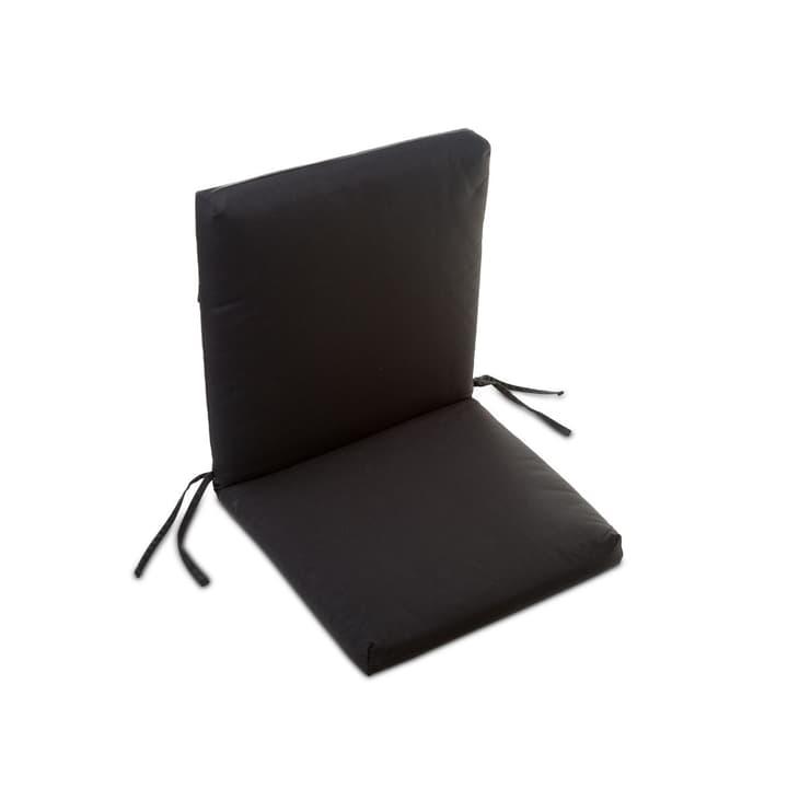 MILOU Coussin d'assise 378038900000 Couleur Noir Dimensions L: 50.0 cm x P: 98.0 cm x H: 7.0 cm Photo no. 1