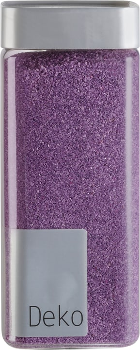 Sable décoratif, 0,5 mm Do it + Garden 655865500000 Couleur Aubergine Taille L: 6.5 cm x P: 6.5 cm x H: 15.5 cm Photo no. 1