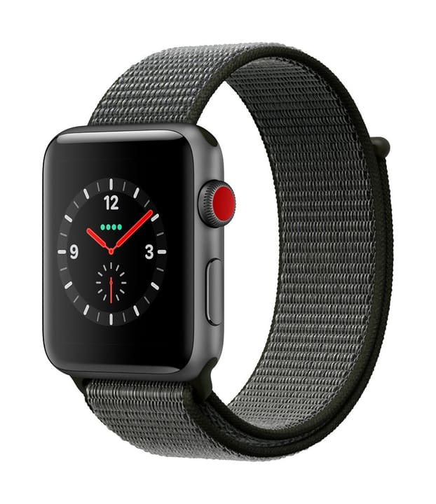 Watch Series 3 GPS/LTE 42mm spacegray/olive Apple 785300130050 Photo no. 1