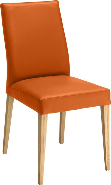 SERRA Chaise 402355500057 Dimensions L: 46.0 cm x P: 57.0 cm x H: 92.0 cm Couleur Orange Photo no. 1