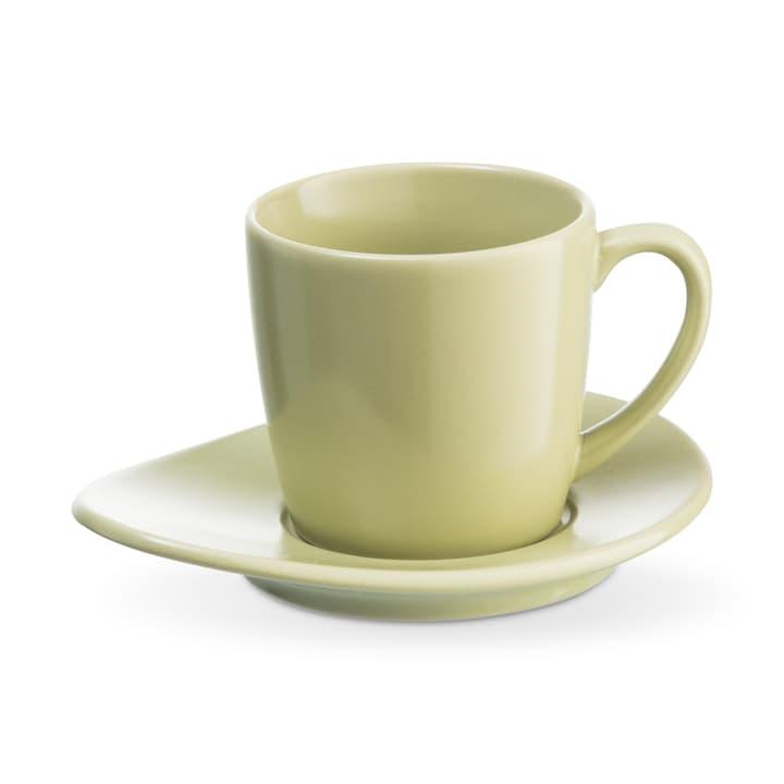 CUBA Espressotasse inkl. Untertassenteller ASA 393219800661 Grösse B: 5.5 cm x T: 5.5 cm x H: 5.0 cm Farbe Hellgrün Bild Nr. 1