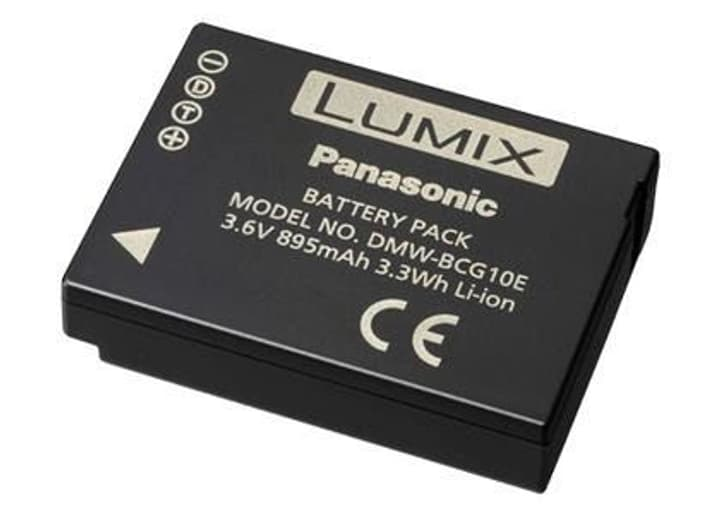 DMW-BCG10E Li-Batterie Panasonic 785300124104 Photo no. 1