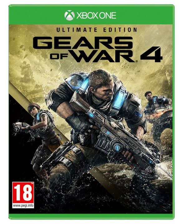 Xbox One - Gears of War 4 Fisico (Box) 785300121249 N. figura 1