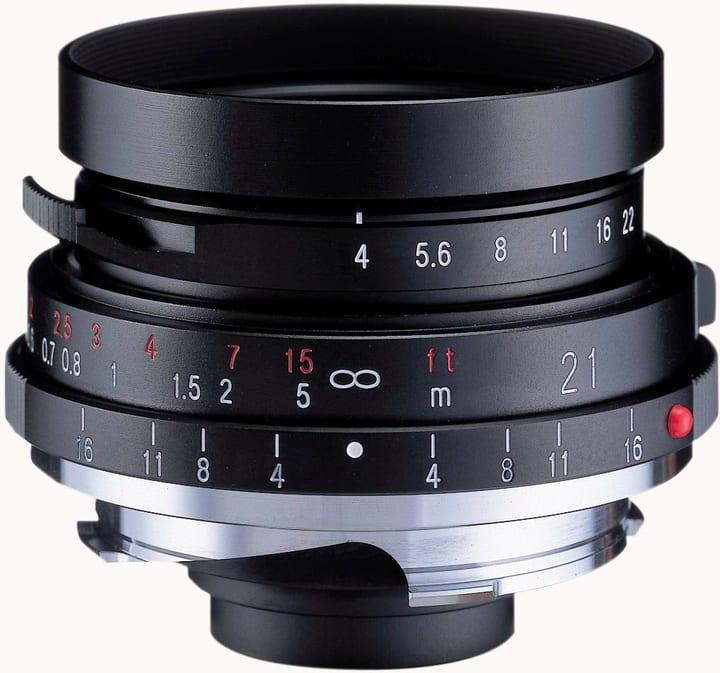 Voigtländer Color-Skopar 21mm / 4.0 P-Type obiettivo Obiettivo Voigtländer 785300126984 N. figura 1