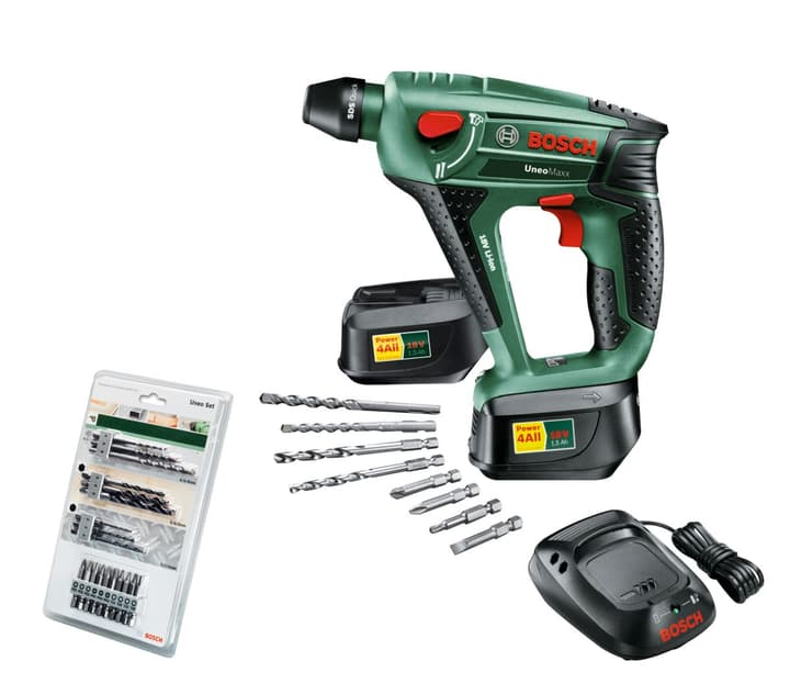 BOSCH Akku-Bohrhammer Uneo Maxx Bosch 61664370000012 Bild Nr. 1