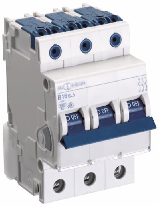 Image of ABL Einbauautomat 'C' 3x 6A 6KA Leitungschutzschalter