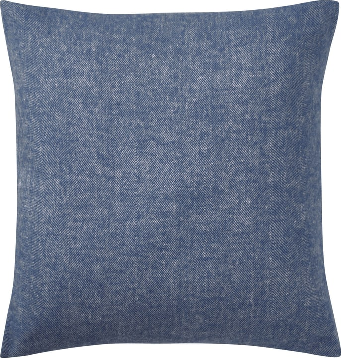 EMILIANO Coussin 450757040840 Couleur Bleu Dimensions L: 45.0 cm x H: 45.0 cm Photo no. 1