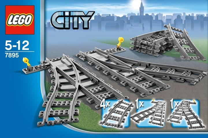 LEGO City Les aiguillages 7895 746809900000 Photo no. 1
