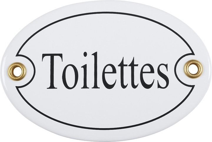 Insegna in email Toilettes 605078400000 N. figura 1