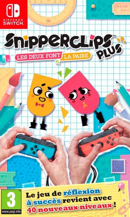 NSW - Snipperclips Plus - Les deux font la paire! F 785300130164 Photo no. 1