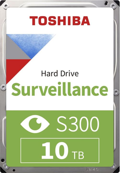 "S300 Surveillance 10TB 3.5"" SATA (BULK) HDD Intern Toshiba 785300137571 Bild Nr. 1"