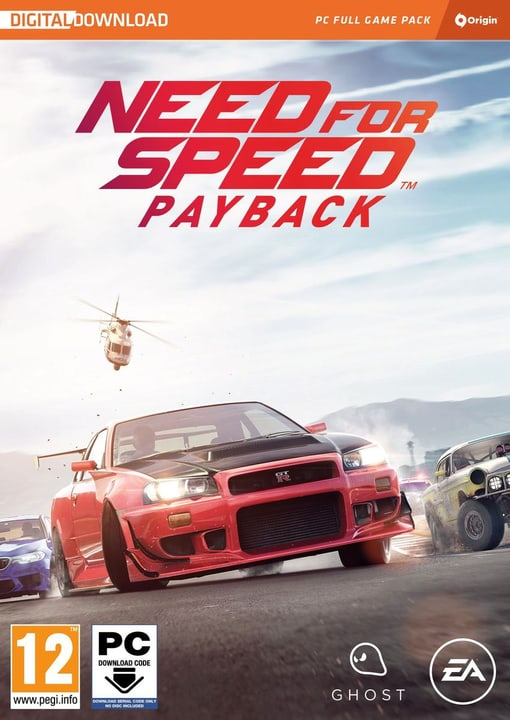 PC - Need for Speed - Payback (Code in a Box) (D/F/I) Fisico (Box) 785300131917 N. figura 1